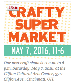 Crafty Supermarket Spring Show @ Clifton Cultural Arts Center | Cincinnati | Ohio | United States