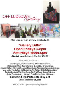 Gallery Gifts Show at Off Ludlow Gallery @ Off Ludlow Gallery